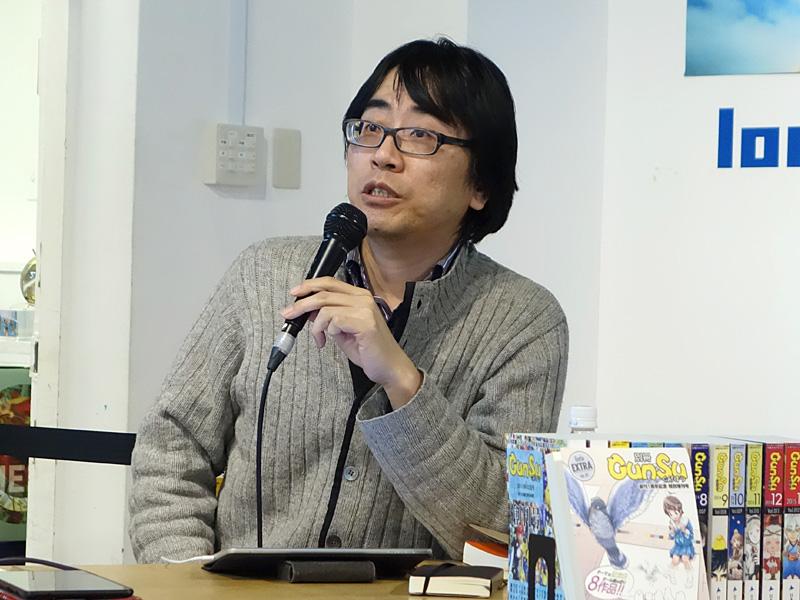 仲俣暁生氏