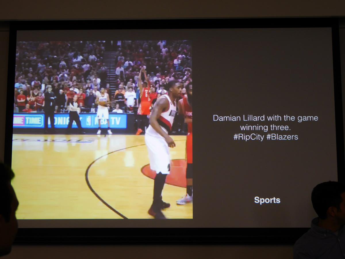 スポーツ系Vineの1つ。観客席にいるような臨場感のある動画体験が得られるという