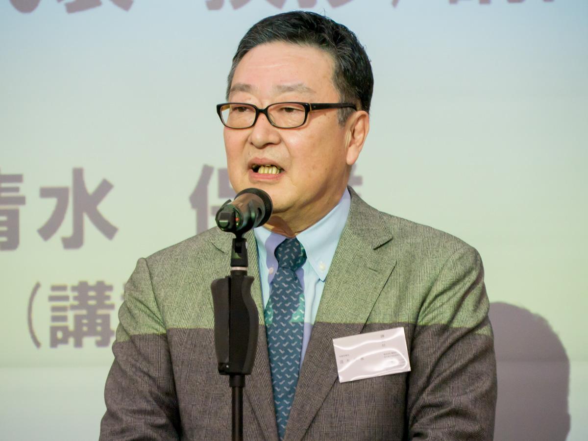 株式会社講談社常務取締役の清水保雄氏