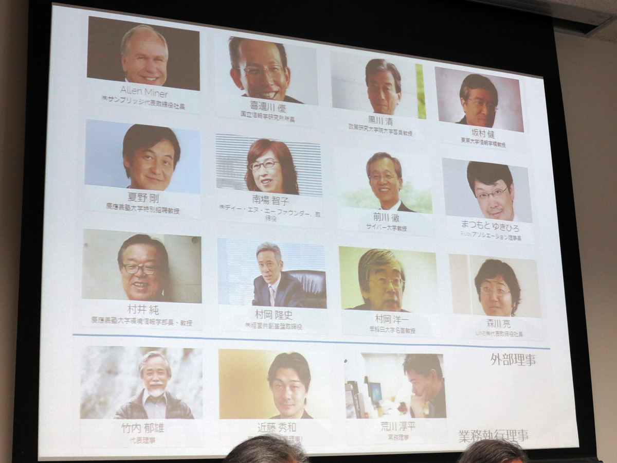 Mitou Foundationで外部理事に就任するメンバー一覧