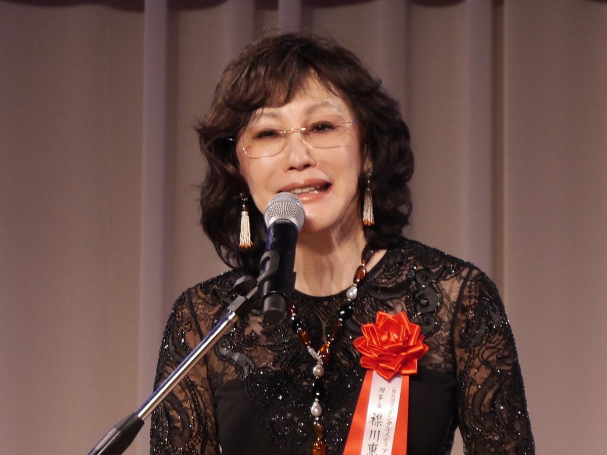 一般社団法人デジタルメディア協会理事長の襟川惠子氏
