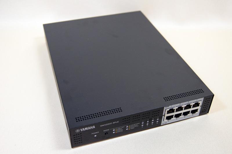PoE対応のL2スイッチ「SWX2200-8PoE」