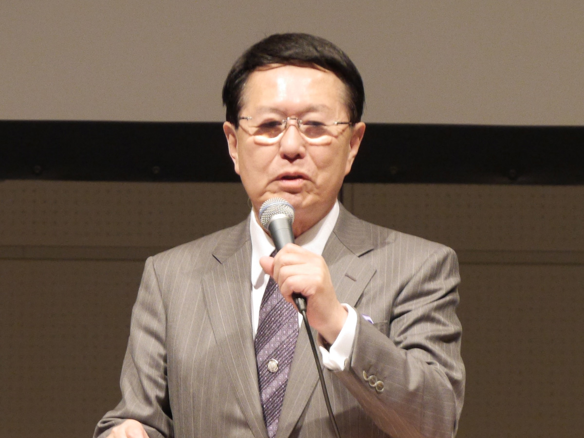 リードエグジビションジャパン代表取締役社長の石積忠夫氏