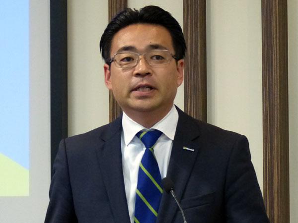 日本マイクロソフト 業務執行役員 サーバープラットフォームビジネス本部の佐藤久本部長