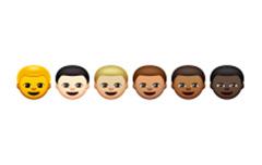 「OS X Yosemite 10.10.3」の「Safari 8.0.5」で表示した状態。肌の色のバリエーションをきちんと認識して表示している