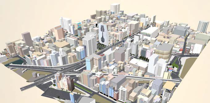 Japanese Naniwa City