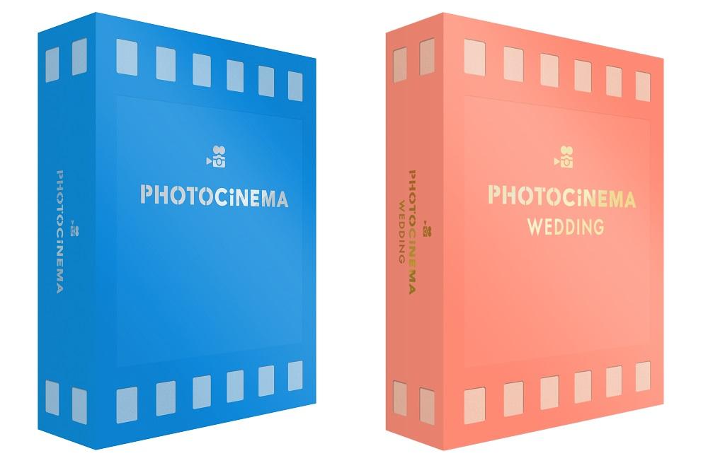 (左から)「PhotoCinema 通常版」「PhotoCinema ウェディング版」