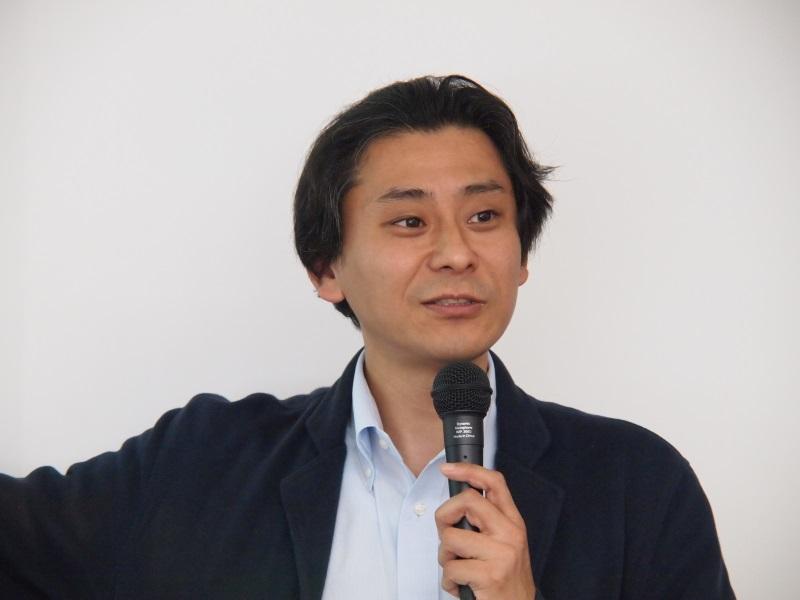 日本IBMの矢崎誠二氏