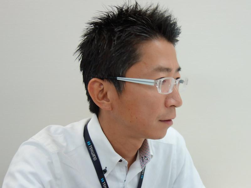 営業本部 第一営業部 部長の柳沼敦仁氏