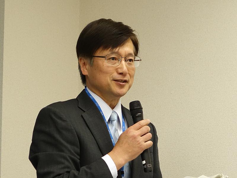 NICTの電磁波計測研究所で所長を務める山中幸雄氏