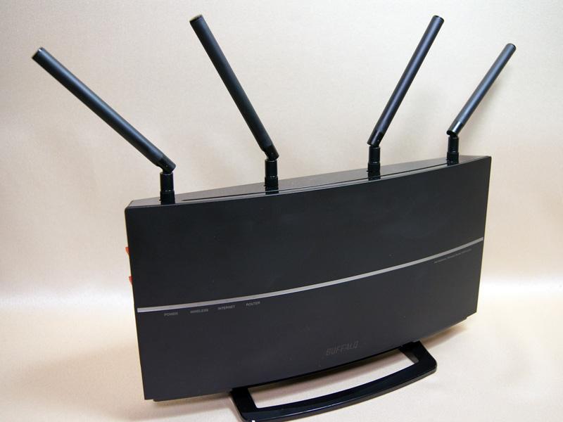 バッファローの4ストリームMIMO対応IEEE 802.11ac無線LANルーター「WXR-2533DHP」