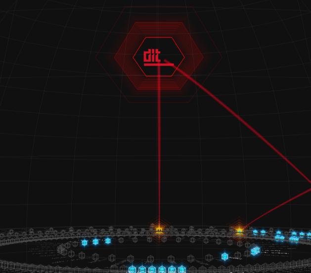 「自動防御機能」で、マルウェアプロセスからの異常通信が自動遮断されている様子