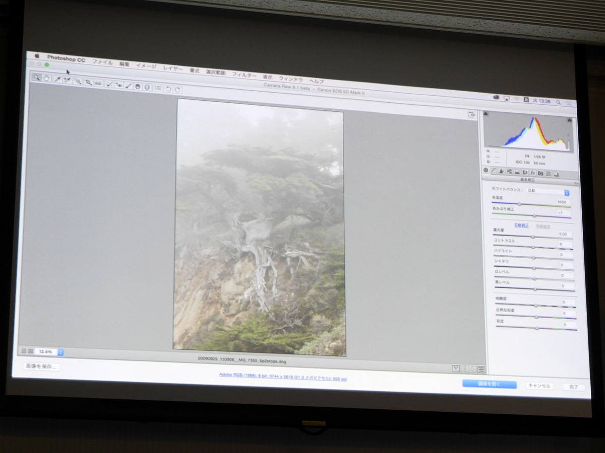「Photoshop CC」では霞を除去する「ビヘイズ」を搭載。「Lightroom CC」でも利用可能