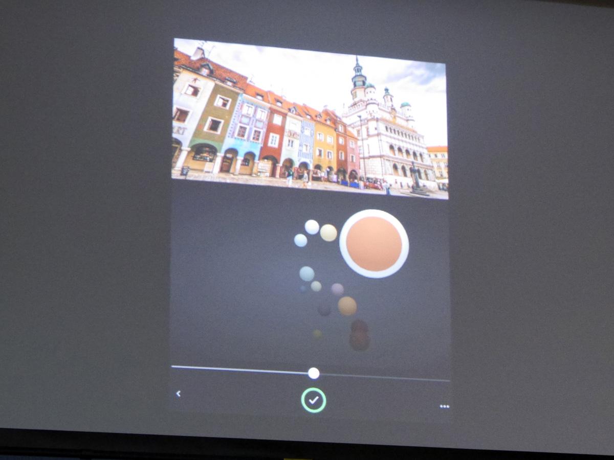モバイルデバイスで撮影した写真から色彩成分を抽出し、「PremierePro CC」「AfterEffects」に適用できるiOSアプリ「Adobe Hue CC」