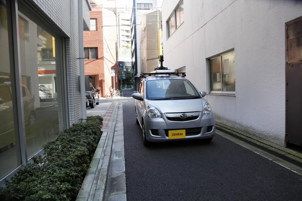 細道路計測車両