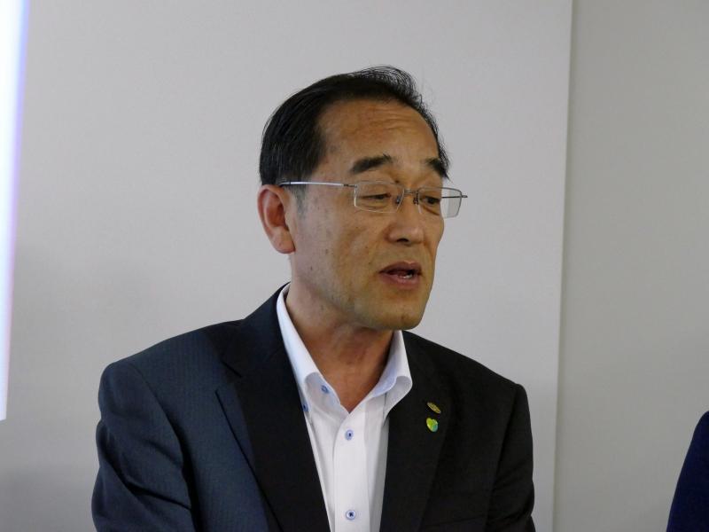 長野県企画振興部情報政策課の坂口秀嗣氏