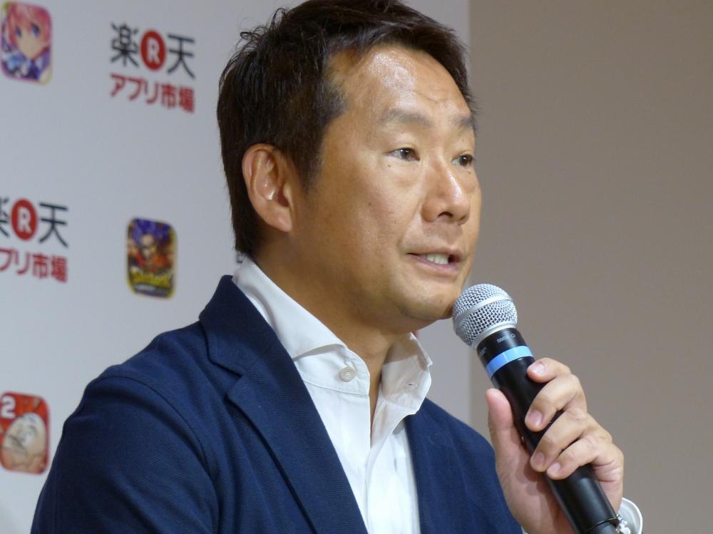 楽天株式会社代表取締役副社長執行役員の島田亨氏