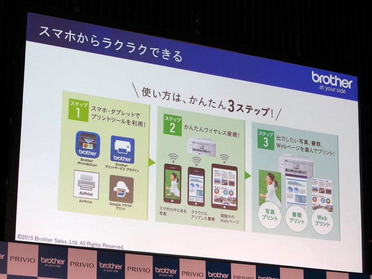 スマートフォンとの連携を強化