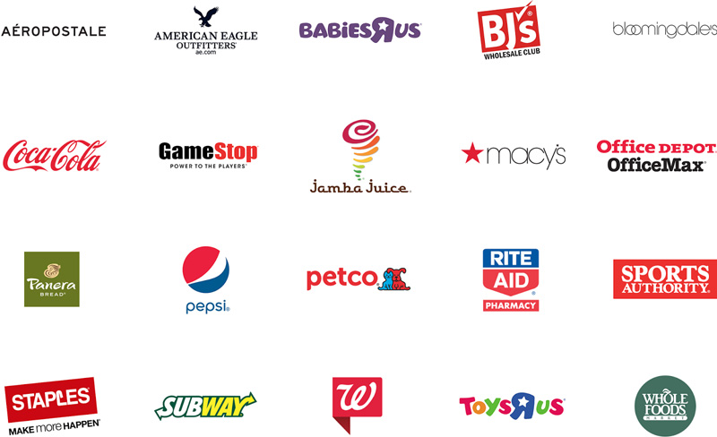 Android Payを利用できる店舗の例