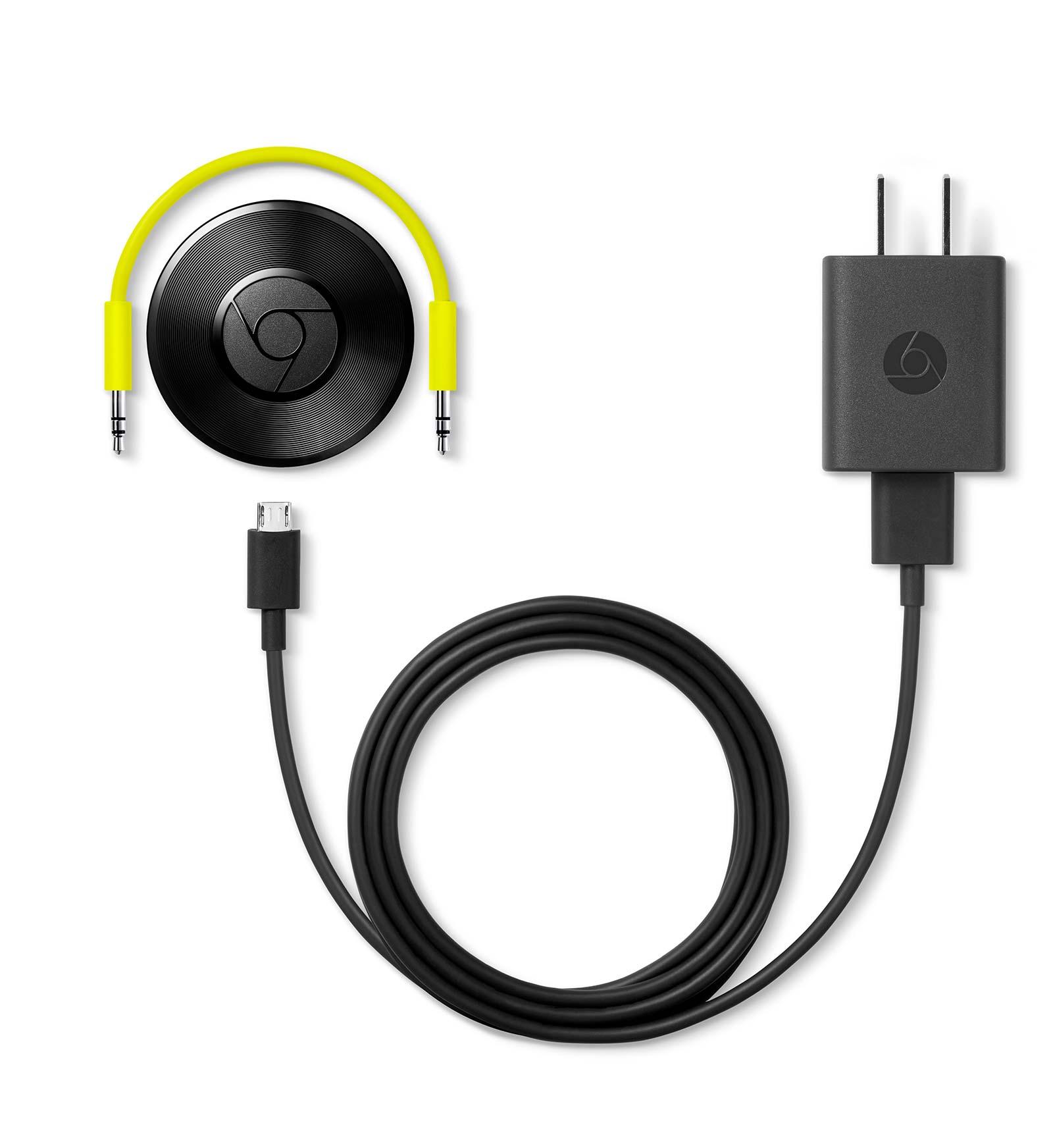 「Chromecast Audio」