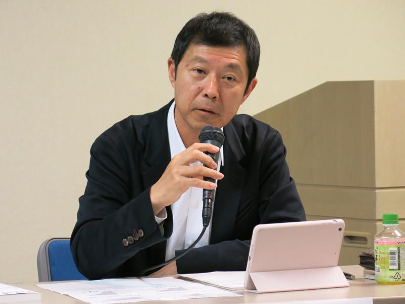 吉羽治氏(講談社デジタル・国際ビジネス局)
