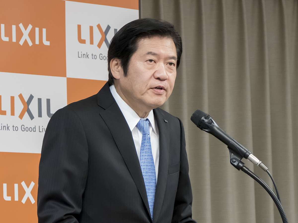 株式会社LIXIL取締役代表執行役社長兼CEOの藤森義明氏