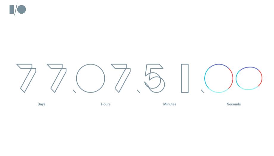 「Google I/O 2016」特設サイトが公開中