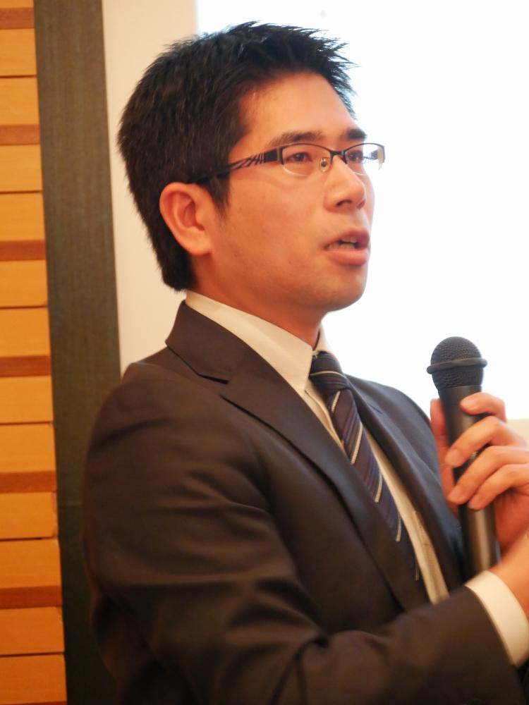 DiTT参与/日本教育情報化振興会の片岡靖氏