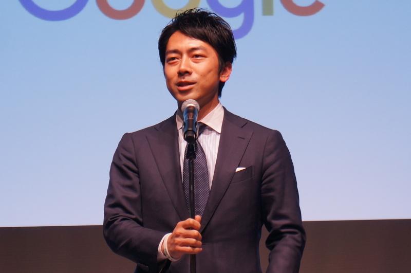 小泉進次郎氏(前復興大臣政務官)