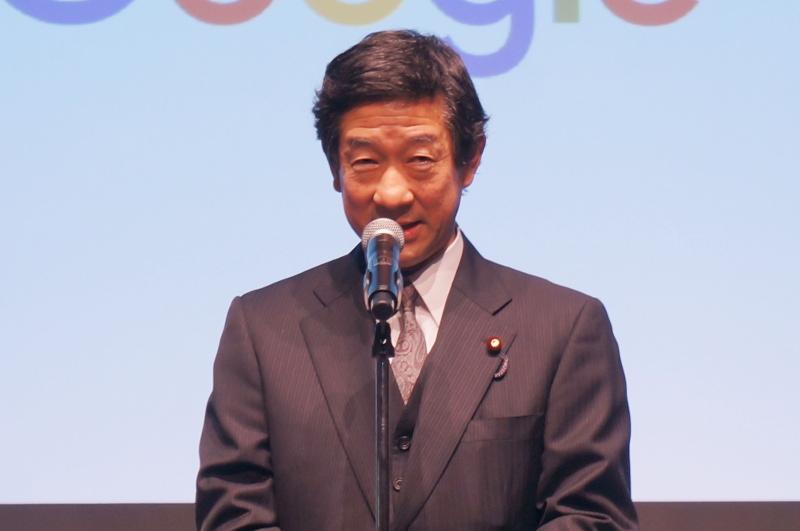 伊藤信太郎氏(衆議院東日本大震災復興特別委員長)