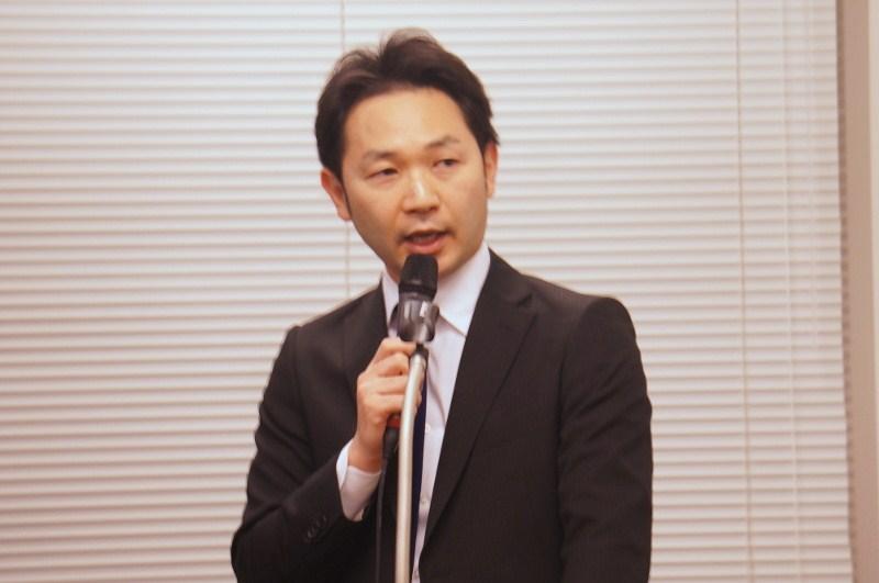 モデレーターの加瀬澤良年氏(株式会社ビズリーチ)