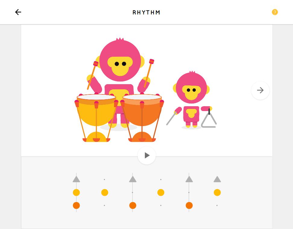 打ち込んだ音をキャラクターが演奏する「Rhythm」