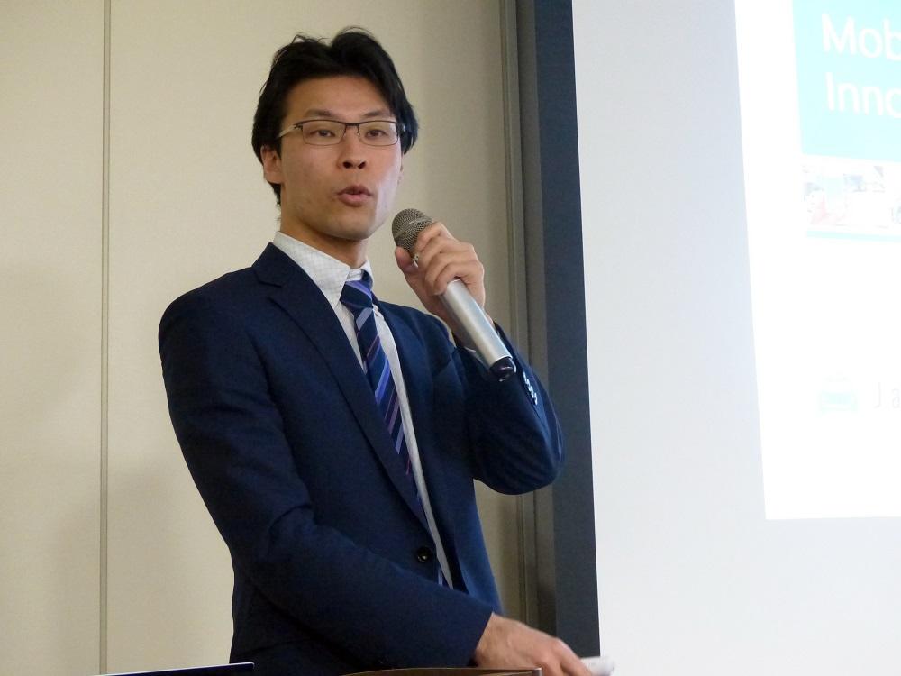 JapanTaxi株式会社プロダクトマネージャーの山本智也氏