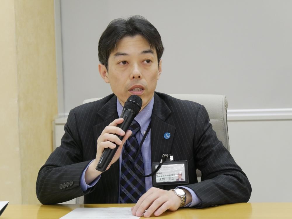 教育庁総務部教育情報課長の上野正之氏