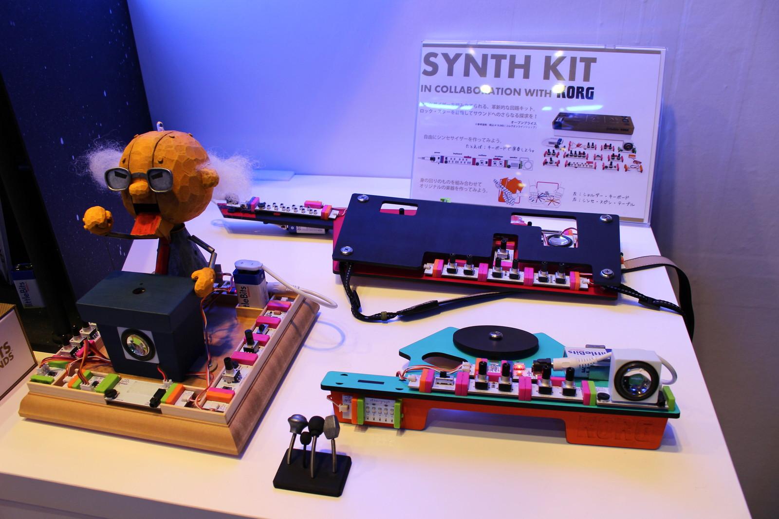 アナログシンセサイザーを工作する「SYNTH KIT」