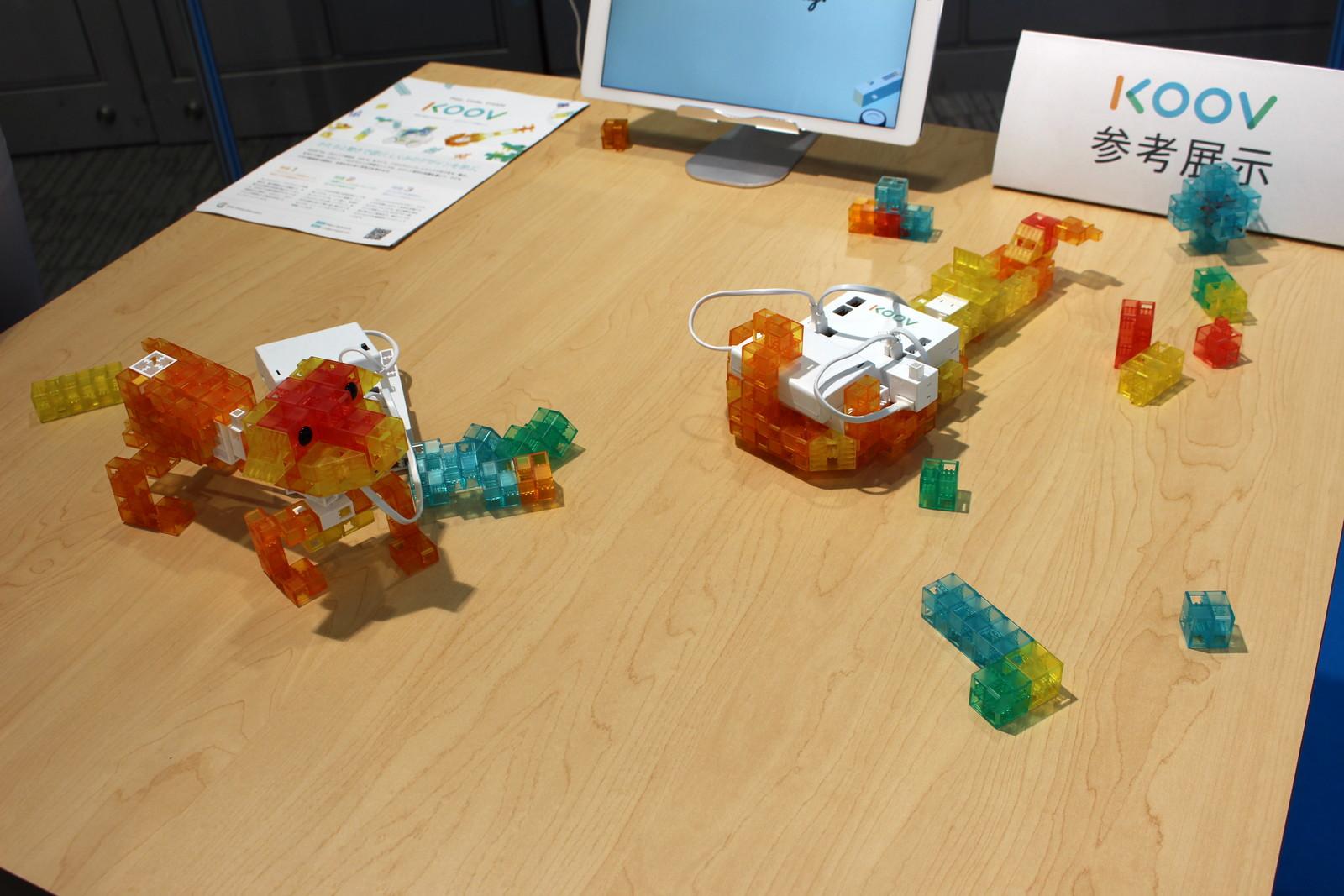 KOOVで使用されているブロックはソニーのデザインチームが担当している