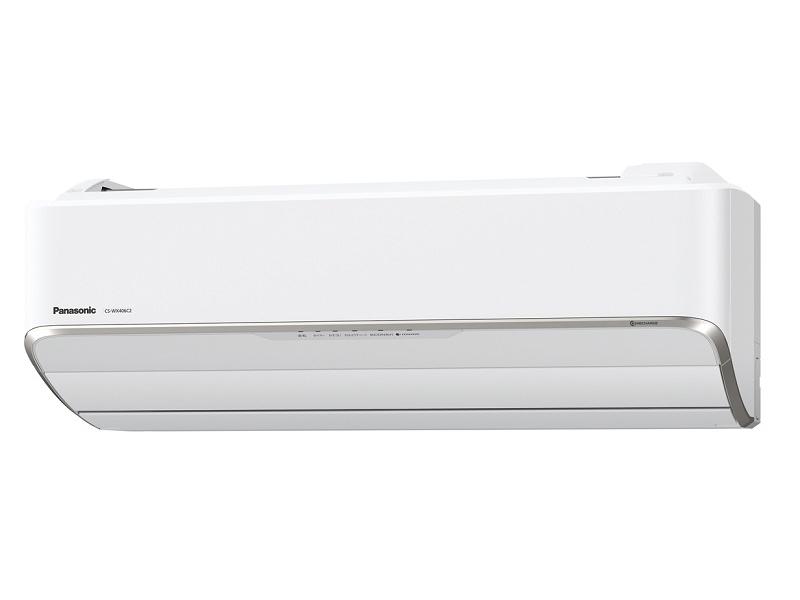 パナソニック「ルームエアコン WXシリーズ CS-WX406C2」14畳モデル。実勢価格:32万1,920円