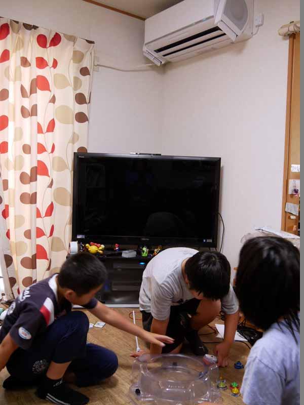 小6男子が本気で遊んでいると室温が急に上がるのだが、nocria Xにしてからは「暑い」といわれることはなくなった
