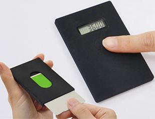 マニュアルモードでは、液晶画面の下にあるボタンを押すと、残高表示される