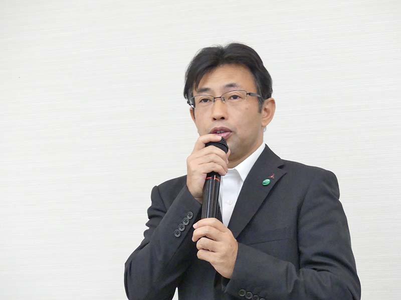静岡製作所・冷蔵庫製造部・技術第一課長の大矢恵司氏