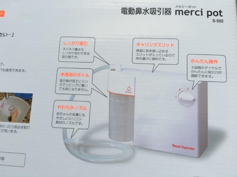 箱の裏に書かれている同梱物。AC電源が必要
