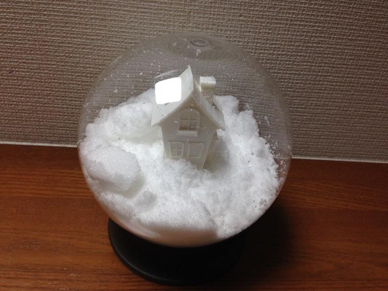 白砂糖を入れれば冬らしい雰囲気