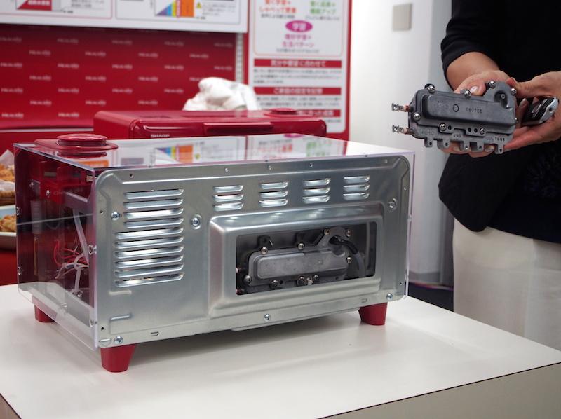 ヘルシオと同タイプの過熱水蒸気エンジンを搭載