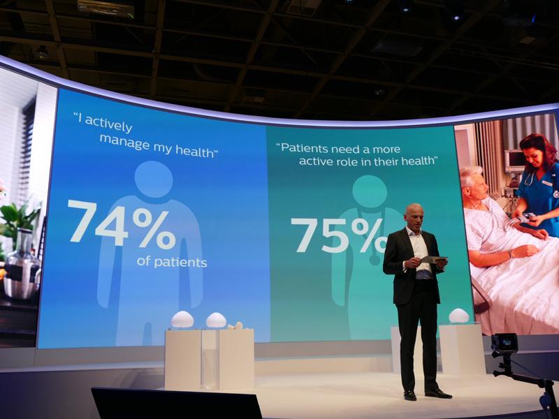 フィリップスの調査によると、一般の人の74%が健康に気を使っていると回答しているのに対し、医師の75%は患者にもっと健康に気をつけるべきだと答えていたという