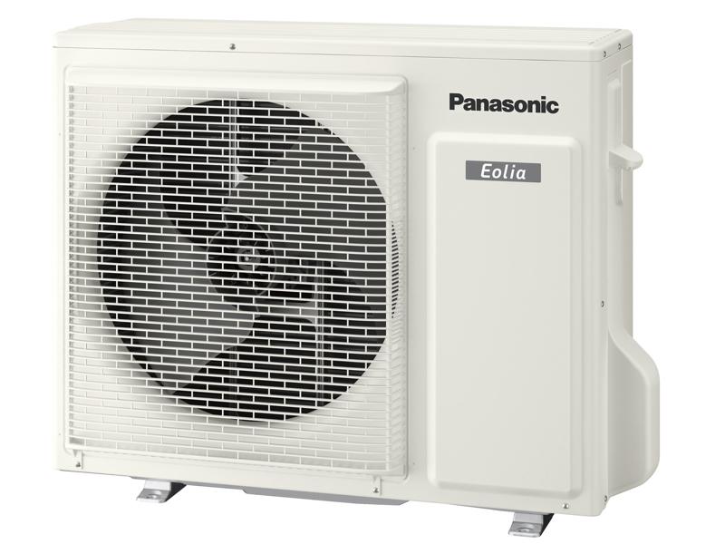 霜取運転中でも温風を止めない「ノンストップ暖房」を実現する室外機