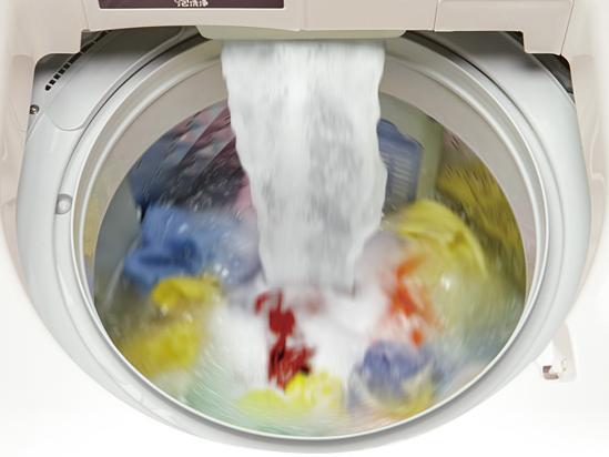 素早く泡を作り洗浄する「即効泡洗浄」を搭載