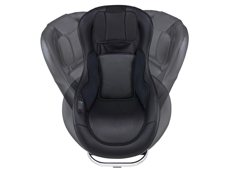 座面は左右に45度展開し、座ったり立ったりしやすい