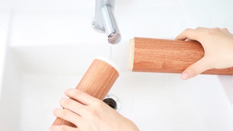 ノズルを分解し、清潔に保つことができる