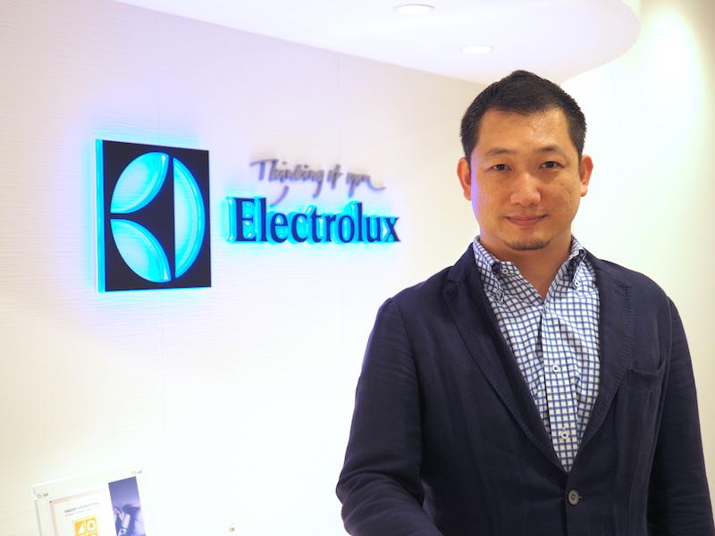 エレクトロラックス・ジャパン スモールアプライアンス事業部 トレードマーケティング部長 室井崇裕氏