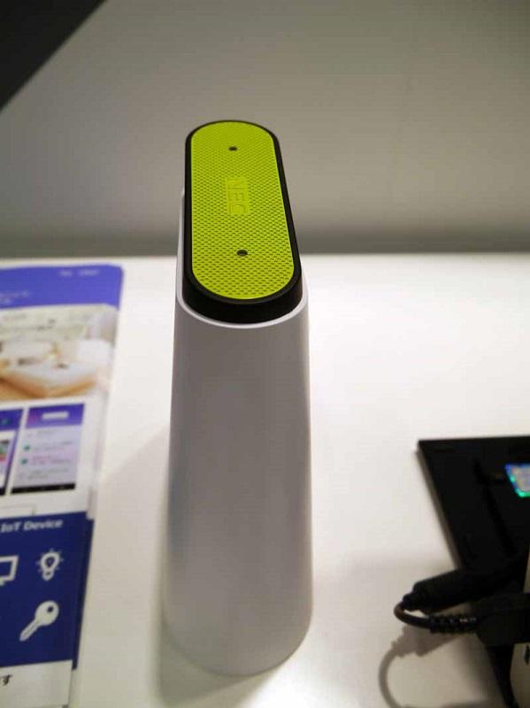 音声で制御することができるLAVIE Voice for Smart Homeの試作品